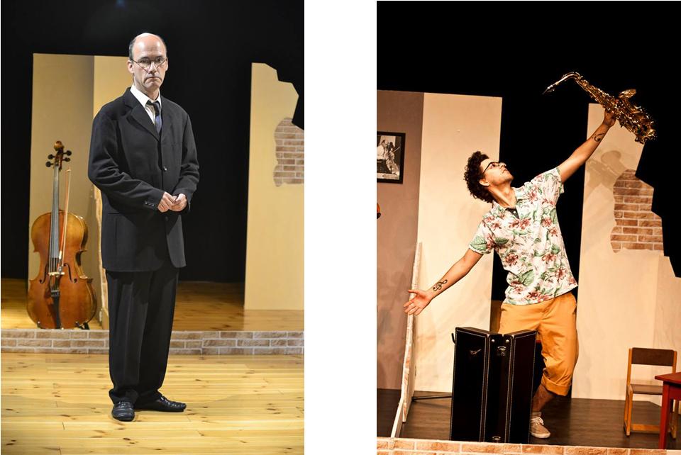 Theaterstück von Theater Mobilis - Herr Schmidt und Herr Schmitt