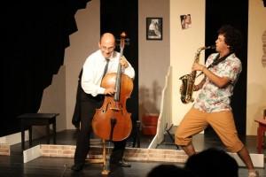 Theater Mobilis -Herr Schmitt und Herr Schmidt