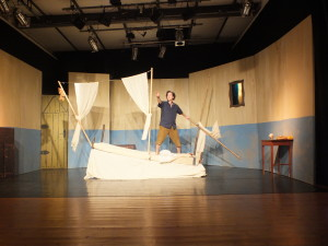 Theaterstück von Theater Mobilis - Robinsons andere Insel